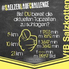 Läuft noch immer: #SaelzerLaufChallenge