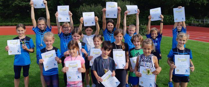 Erster offizieller Wettkampf für die Altersklassen U8-U12